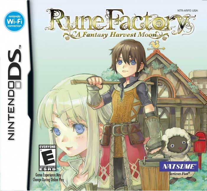 Rune Factory: A Fantasy Harvest Moon